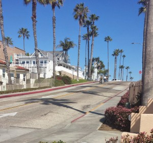 RAAM Mile 0. Surfrider Way and The Strand, Oceanside, CA.